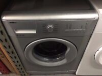 BEKO 8KG 1200 SPIN A+ SILVER WASHING MACHINE RECONDITIONED