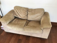 2 x Two Seater Sofas Free to Collector
