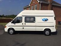 Ford transit Camper van with lots of MOT. Ready now