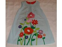 Mini Boden Embroidered Summer Dress - Age 3-4