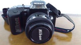 Nikon F-401s Camera Complete With Lens