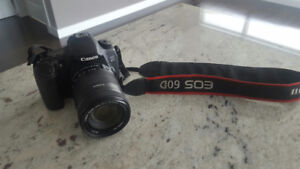 Canon 60D With 18 to 135 Lens