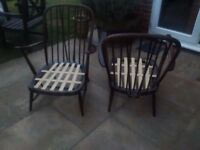 WANTED FOR RECYCLING, ercol, old charm or jaycee furniture
