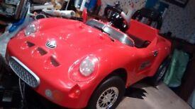 Electric ride on (6 volt) Porsche roadster