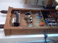 Bookcase (Free standing) 189cm x 90cm. Great condition. £50