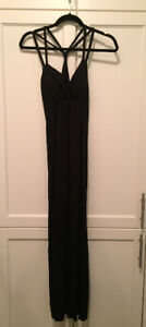 NEW Black long dress from winners -women's small -new with tags