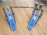 Bigdog double bass double chain drum pedal full working order precision instrument