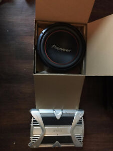 Exile x600.4 amp and Pioneer 1300w sub