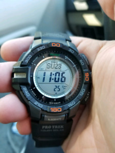 For Trade Casio Pro-Trek prg-270 Triple Sensor watch