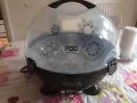 Digital steam steriliser pod