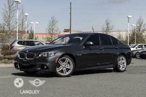 2016 BMW 535i Driver Assistance, Premium, AND M Sport Package!!!