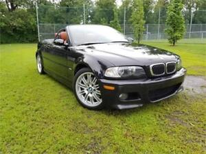 2002 bmw m3 - SMG-  122 000KM- CONVERTIBLE-  IMPECABLE-