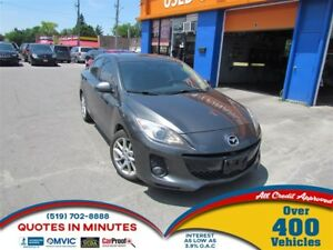 2012 Mazda MAZDA3 GT | LEATHER | ALLOYS | SUNROOF