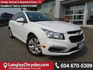 2015 Chevrolet Cruze 1LT *AFFORDABLE*GREAT ON GAS*CLEAN