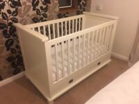 kidsmill cot Shakery cot, cotbed mattress included