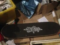 No fear Skateboard used once