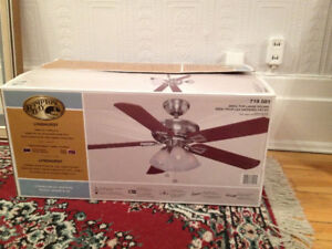 "Ventilateur de Plafond  **  52"" Hampton Bay ** Ceiling Fan"