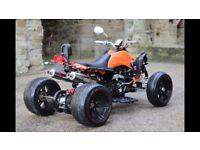Speedslide 250cc quad