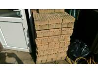 House bricks approx 275, biege cream colour, £40 for the lot