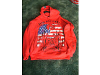 Mens/Boys XL Red Hoodie/Sweat by Tapout