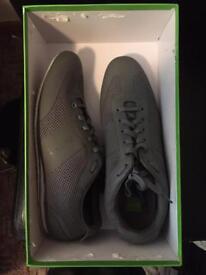 Hugo boss trainers- Size 11 dark grey