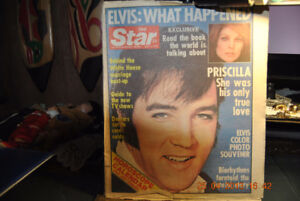 ELVIS PRESLEY THE STAR NEWSPAPER SEPT 6, 1977 COLLECTIBLE OLD .