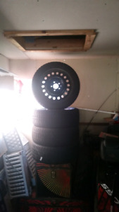 """17"""" Tires and winter Rims"""