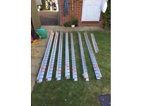 Aluexcel aluminium hard landscaping edging