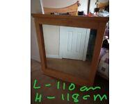 Reid furniture solid wood mirror