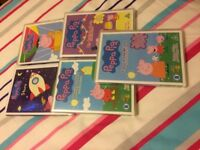 5 Peppa Pig DVD's