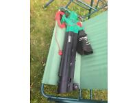 electric garden blower and vacuum
