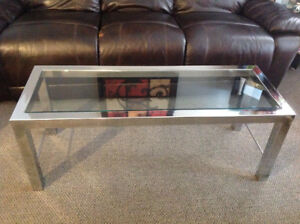 A Glass Coffee Table