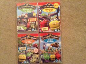 Chuggington DVDs X 4