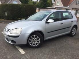 GENUINE LOW MILES 06 VW GOLF 105 TDI CLIMATRON SE MK5 5 DOOR HATCH GENUINE LOW MILES!!