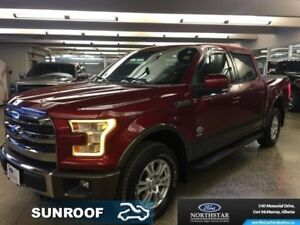 2015 Ford F-150 King Ranch  - $327.52 B/W