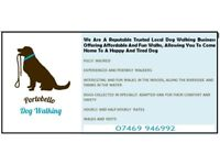 Reputable and trusted dog walking service Wimborne area now have limited vacancies