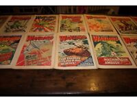 A bundle of 33 Warlord comics 1976 era