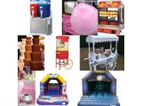 Events Decor, Balloon Delivery, Fun Food, Mascots , Bouncy castle, Throne Chairs, Glitter Tattoo
