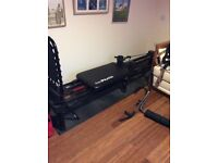Pilates work out bed