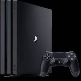 PS4 Pro 2TB HD with Turtle Beach Headset