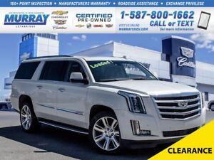 2015 Cadillac Escalade ESV **Sunroof!  Heated Seats!**