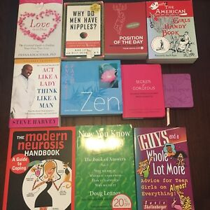 11 woman's books for $10