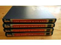 The Story of Scotland - Sunday Mail 52 Issues in 4 Hardback Folders