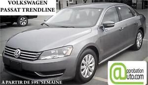 2014 Volkswagen Passat, À PARTIR DE 59$/SEMAINE 100% APPROUVÉ