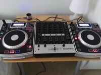 Dj Set Up Almost Brand New Numark Ndx900 x2 + Numark M6 usb