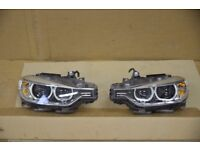 Original left hand drive Bixenon AKL Adaptive headlights BMW F30 F31 2011 - 2015 LHD MOT TUV APK ITV