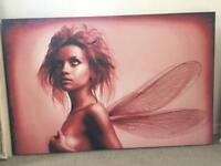 Large Fairy canvas