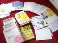 A job lot of stationary HUGE AMOUNT