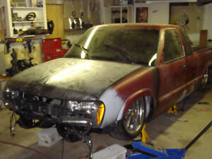 Custom Chevrolet S-10 Pickup Truck Project (Bagged)