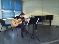 CLASSICAL GUITAR LESSONS - EDINBURGH